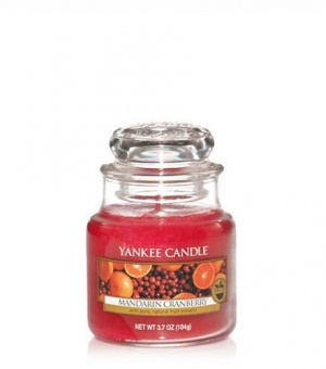 Mandarin Cranberry - Small Jar Candle - The Candle Scentre