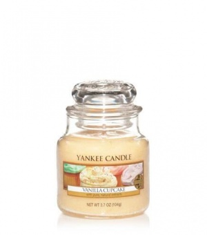 Vanilla Cupcake - Small Jar Candle - The Candle Scentre