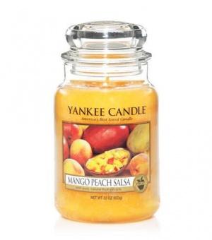 Mango Peach Salsa - Large Jar Candle - The Candle Scentre