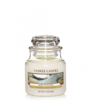 Baby Powder - Small Jar Candle - The Candle Scentre