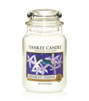 Midnight Jasmine - Large Jar Candle - The Candle Scentre