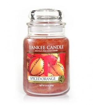 Spiced Orange - Large Jar Candle - The Candle Scentre