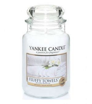 Fluffy Towels™ - Large Jar Candle - The Candle Scentre