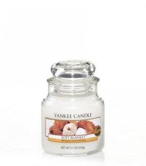 Soft Blanket - Small Jar Candle - The Candle Scentre