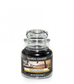 Black Coconut- Small Jar Candle - The Candle Scentre