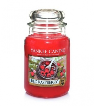 Red Raspberry - Large Jar Candle - The Candle Scentre
