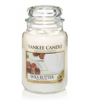 Shea Butter - Large Jar Candle - The Candle Scentre
