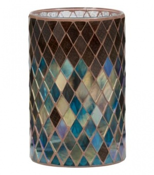 Autumn Mosaic - Jar Candle Holder - The Candle Scentre