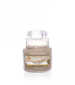 Driftwood - Small Jar Candle - The Candle Scentre