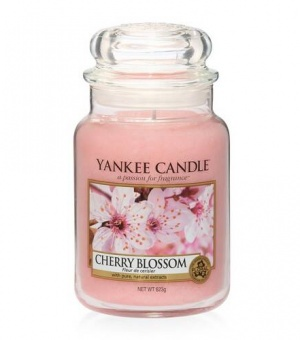 Cherry Blossom - Large Jar Candle - The Candle Scentre