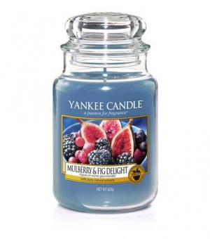 Mulberry & Fig Delight - Large Jar Candle - The Candle Scentre