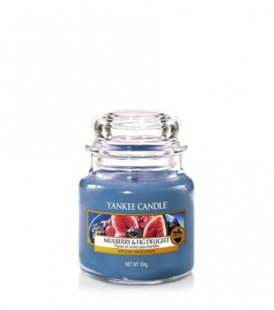 Mulberry and Fig - Small Jar Candle - The Candle Scentre