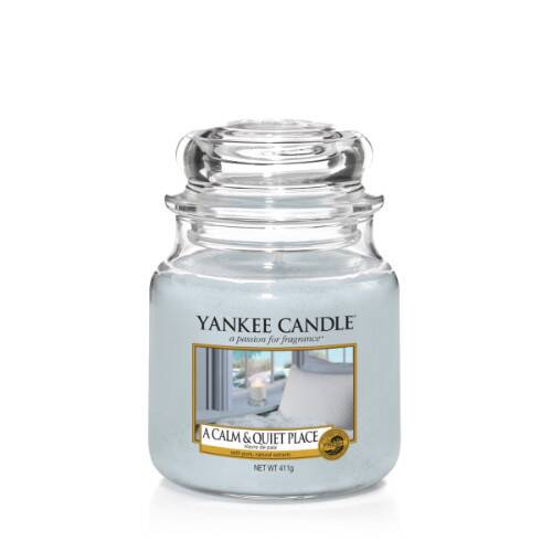 A Calm and Quiet Place - Medium Jar Candle - The Candle Scentre