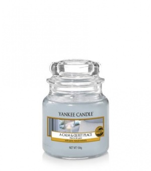 A Calm and Quiet Place - Small Jar Candle - The Candle Scentre