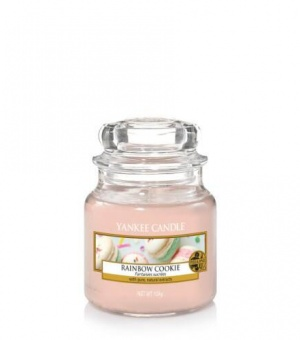 Rainbow Cookie - Small Jar Candle - The Candle Scentre