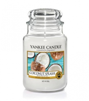 Coconut Splash - Large Jar Candle - The Candle Scentre