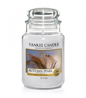 Autumn Pearl - Large Jar Candle - The Candle Scentre