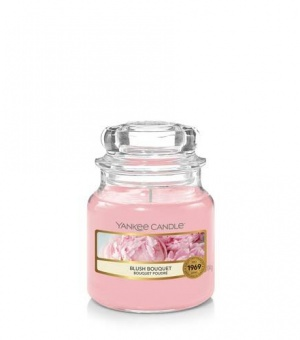 Blush Bouquet- Small Jar Candle - The Candle Scentre