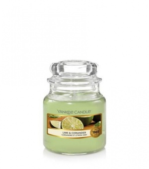 Lime and Coriander - Small Jar Candle - The Candle Scentre