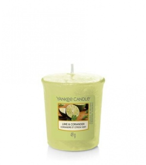 Lime and Coriander - Votive Candle - The Candle Scentre