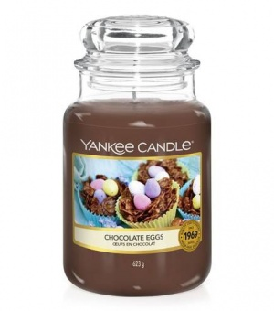 Chocolate Eggs - Large Jar Candle - The Candle Scentre