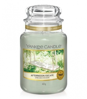 Afternoon Escape - Large Jar Candle - The Candle Scentre