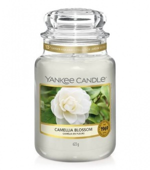 Camellia Blossom - Large Jar Candle - The Candle Scentre