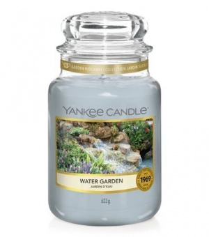 Water Garden - Large Jar Candle - The Candle Scentre