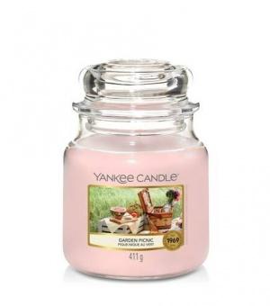 Garden Picnic - Medium Jar Candle - The Candle Scentre