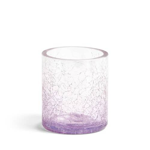 Savoy Purple Crackle Votive Candle Holder The Candle Scentre