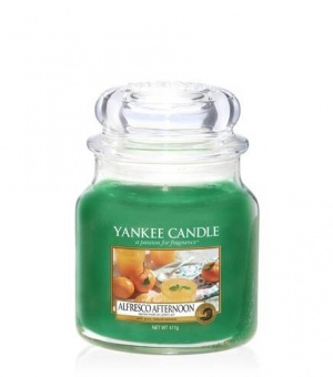 Alfresco Afternoon - Medium Jar Candle - The Candle Scentre