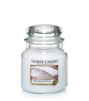 Angel's Wings - Medium Jar Candle - The Candle Scentre