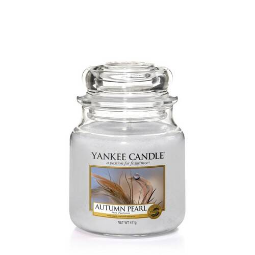 Autumn Pearl - Medium Jar Candle - The Candle Scentre