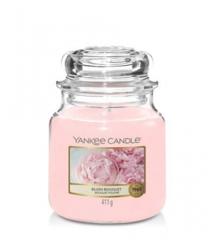 Blush Bouquet - Medium Jar Candle - The Candle Scentre