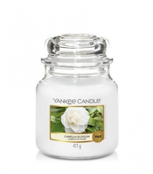 Camellia Blossom - Medium Jar Candle - The Candle Scentre