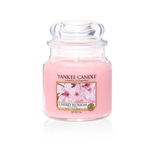 Cherry Blossom - Medium Jar Candle - The Candle Scentre