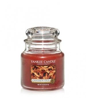 Cinnamon Stick - Medium Jar Candle - The Candle Scentre