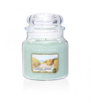 Coastal Living - Medium Jar Candle - The Candle Scentre