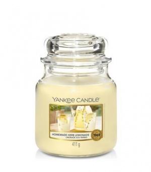 Homemade Herb Lemonade - Medium Jar Candle - The Candle Scentre