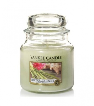 Lemongrass and Ginger - Medium Jar Candle - The Candle Scentre