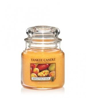 Mango Peach Salsa - Medium Jar Candle - The Candle Scentre