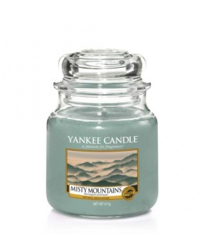 Misty Mountains - Medium Jar Candle - The Candle Scentre