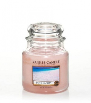 Pink Sands - Medium Jar Candle - The Candle Scentre