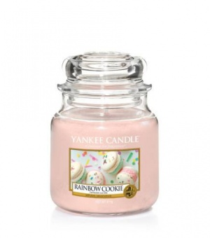 Rainbow Cookie - Medium Jar Candle - The Candle Scentre