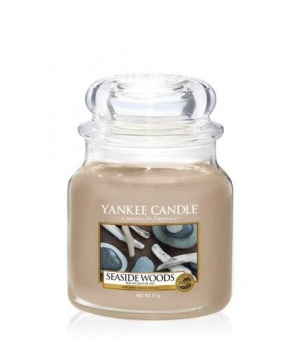 Seaside Woods - Medium Jar Candle - The Candle Scentre