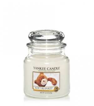 Soft Blanket - Medium Jar Candle - The Candle Scentre