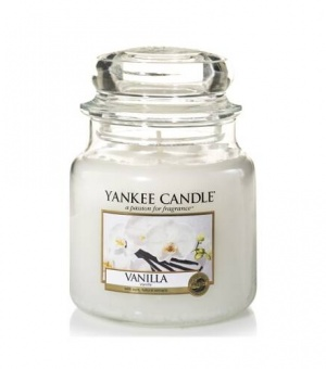 Vanilla - Medium Jar Candle - The Candle Scentre