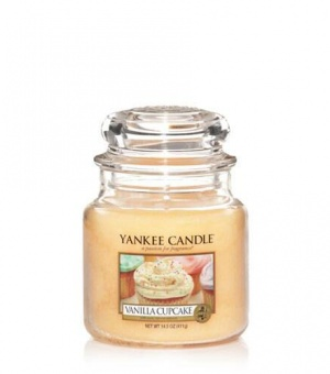 Vanilla Cupcake - Medium Jar Candle - The Candle Scentre