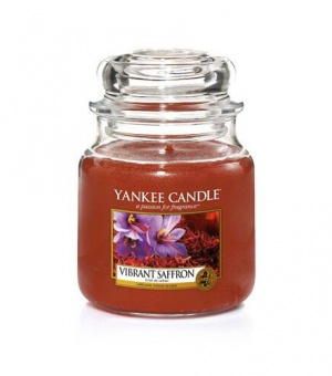 Vibrant Saffron- Medium Jar Candle - The Candle Scentre