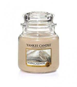 Warm Cashmere - Medium Jar Candle - The Candle Scentre